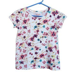 Floral Lightweight Colorful T-shirt L (10-12)